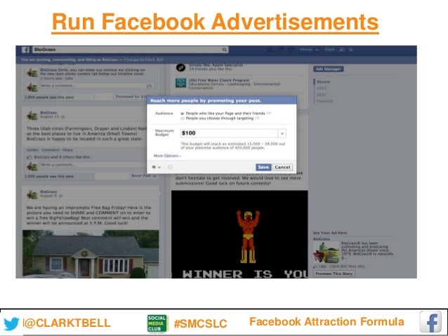 The facebook attraction formula for Attraction 78