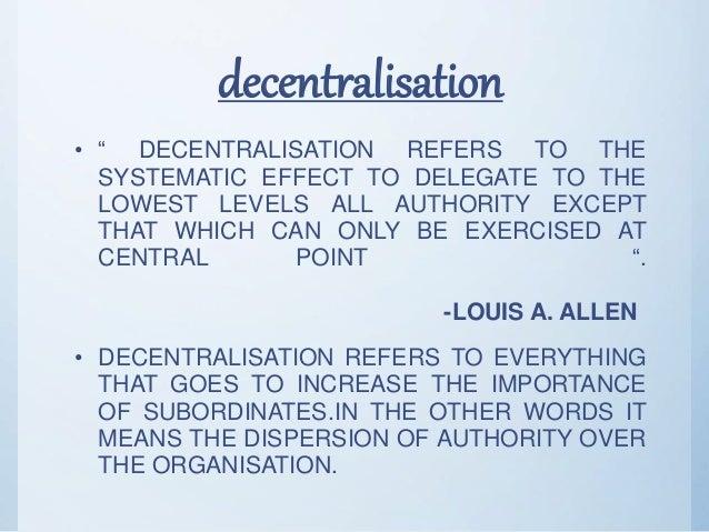 Chapter 4 » Factors affecting decentralization | Business Studies – XII