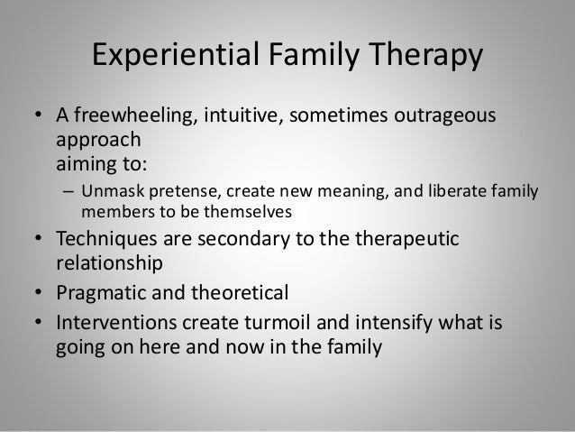 Interventions used in existential therapy