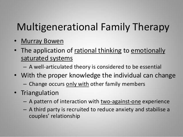 1 family system therapy powerpoint presentation christine moran