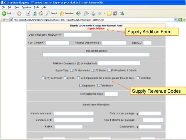 Cdm Electronic Request Form Tutorial