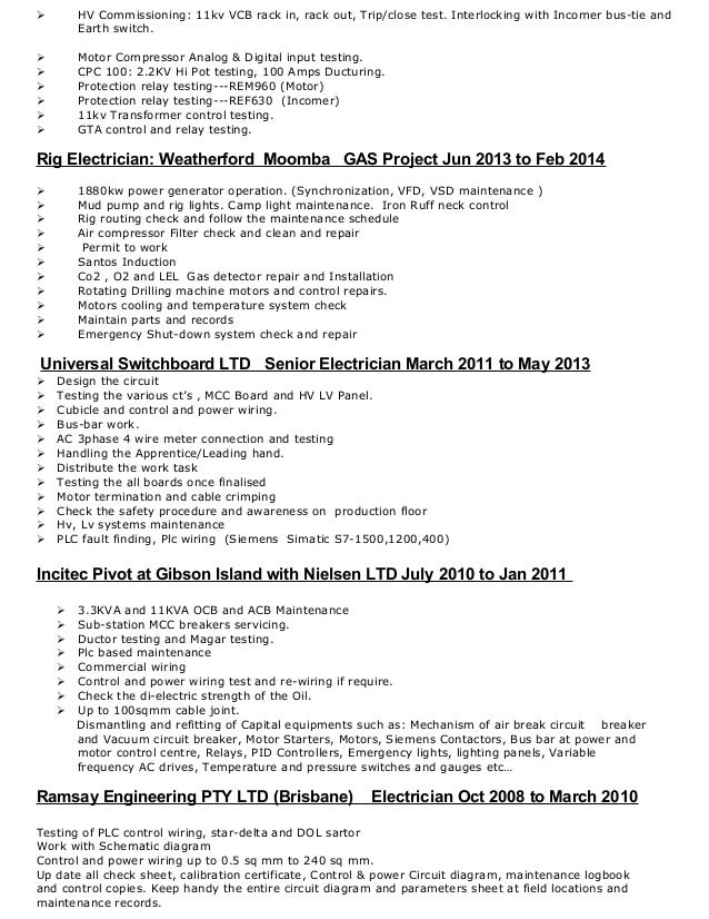Electrician Resume Examples Electrician Resume Template Related Free Resume  Examples Related For 7 Electrician Resume Sample