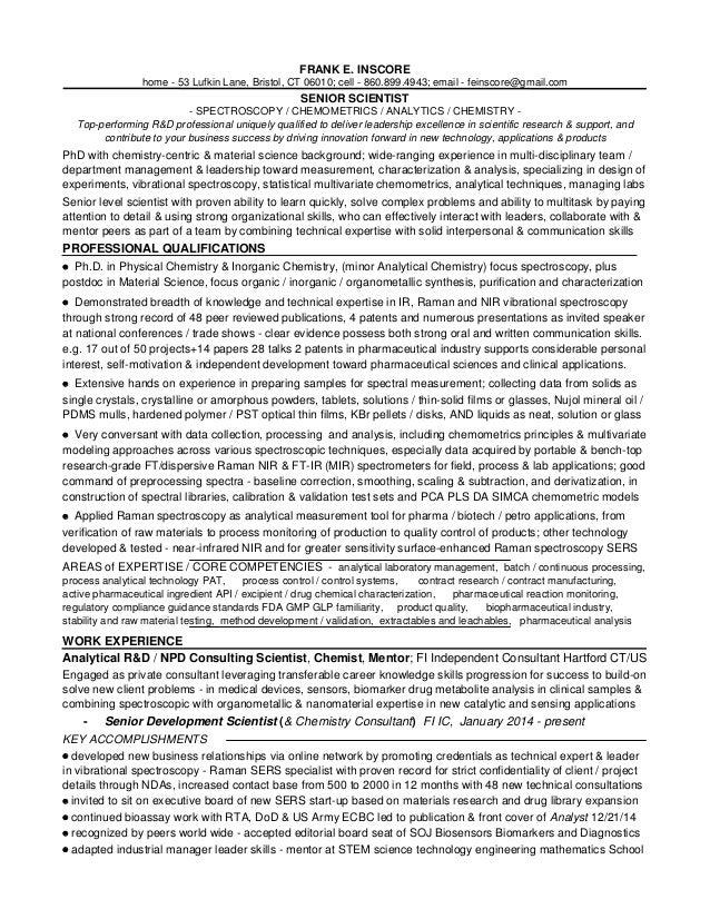 1 fei portfolio r d resumes and appendix 2015