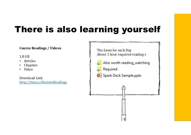 There is also learning yourself CourseReadings/Videos 1,8 GB • Articles • Chapters • Video Download Link http://tiny.c...