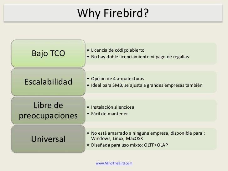 Why Firebird?<br />www.MindTheBird.com<br />