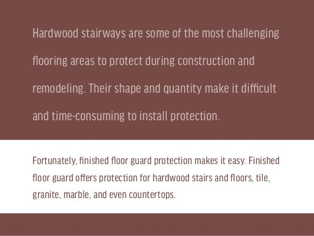 How To Install Floor Guard On Stairs For Home