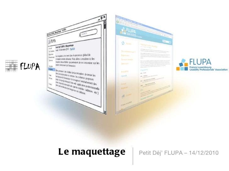 Introduction petit dej maquettage