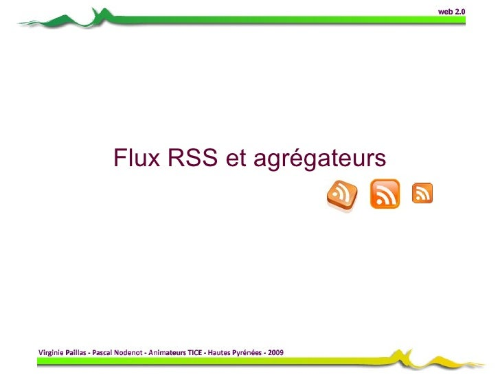 Flux RSS et agrégateurs