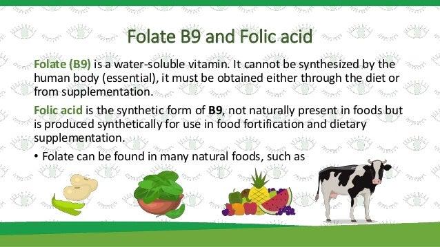 do cows need folic acid in diet
