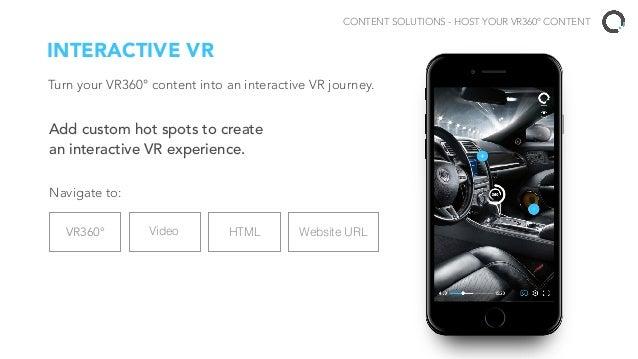 One upload powers VR360° across all platforms Cross-Platform hosting & distribution. LAUNCH YOUR VR360° APP Open-Source VR...
