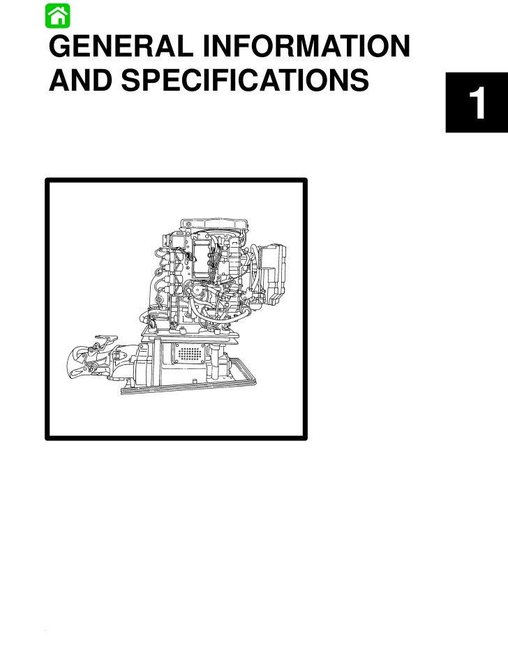 GENERAL INFORMATIONAND SPECIFICATIONS                                              190-831996R1 JUNE 1996   GENERAL INFORM...