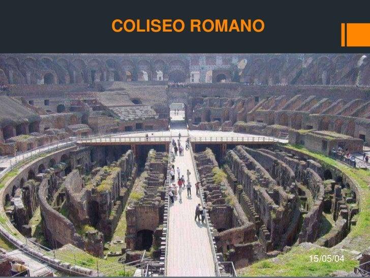 COLISEO ROMANO<br />15/05/04<br />