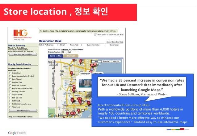 Store location , 정보 확인 InterCon(nental  Hotels  Group  (IHG)   With a worldwide portfolio of more than 4,000 hotel...