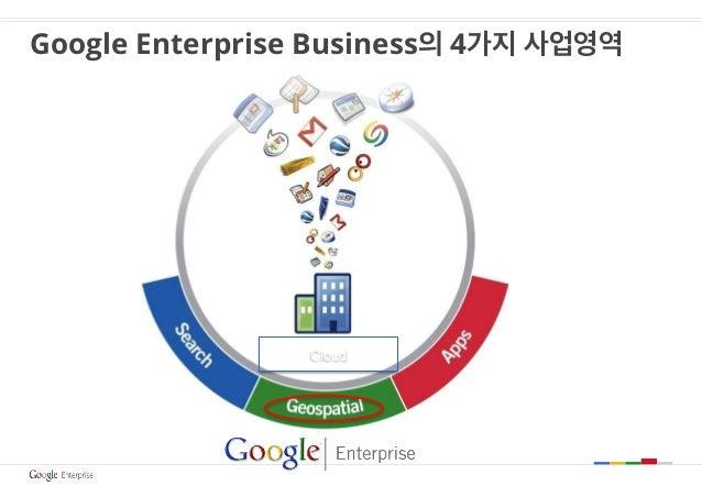 Google Enterprise Business의 4가지 사업영역 Cloud