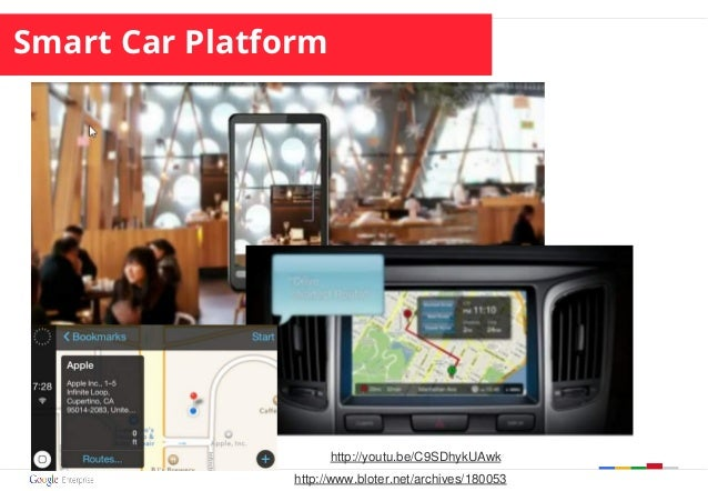 Smart Car Platform http://youtu.be/C9SDhykUAwk http://www.bloter.net/archives/180053