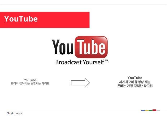 YouTube YouTube 트래픽 잡아먹는 돈안되는 사이트 YouTube 세계최고의 동영상 채널 돈버는 가장 강력한 광고원