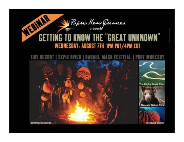 Webinar - Getting To Know The Great Unknown1