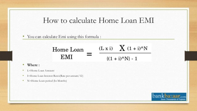 house loan calc