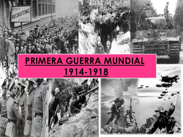 PRIMERA GUERRA MUNDIAL<br />1914-1918<br />