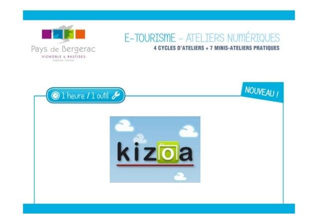 LE WEB D'AUJOURD'HUI Un véritable écosystème Kizoa