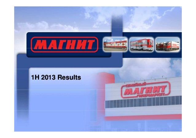 1H 2013 Results