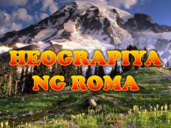 • Nahahati ang Italy sa lupang coastal sa  Silangan at Kanluran dahil sa Apennines.• Ang kabundukan ng Alps sa Hilaga at  ...