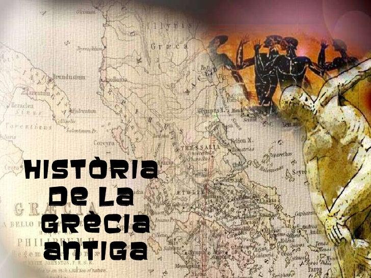 Història  de la  Grècia Antiga