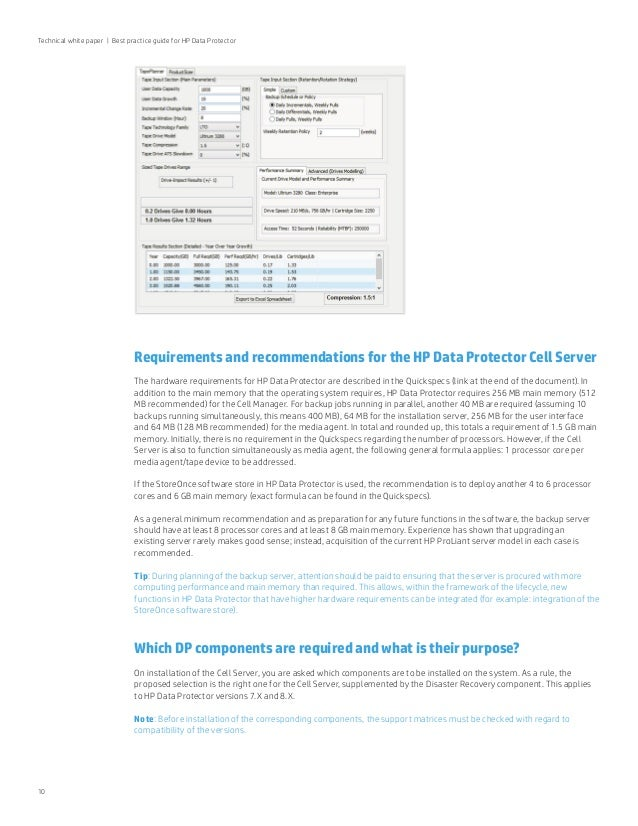 Hpe Data Protector Best Practice Guide