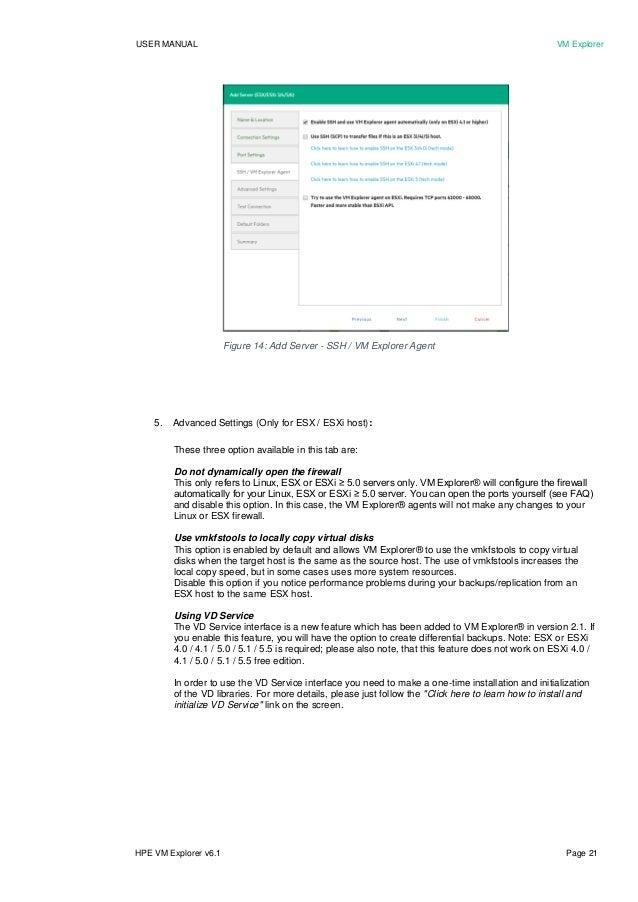 HPE VM Explorer 6 1 user manual