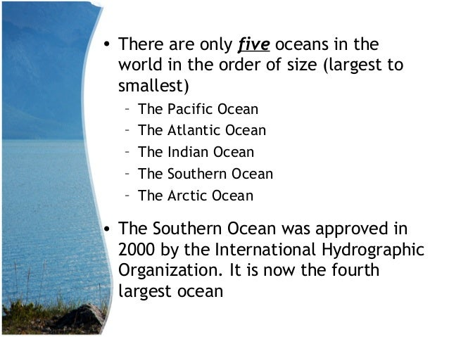 Hrly Gs Ch Oceans - Names of oceans on earth