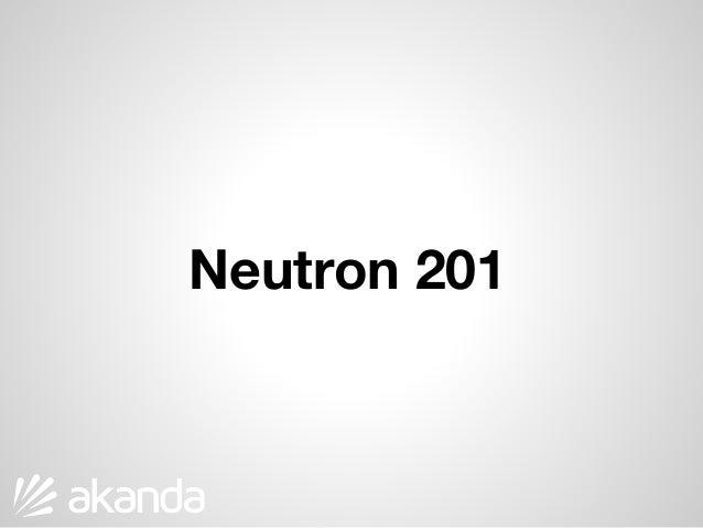Neutron 201