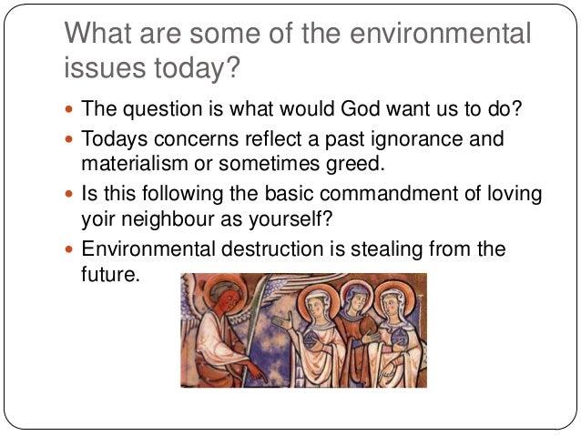 christian environmental ethics essay