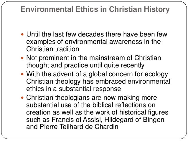 Christian ethics essay
