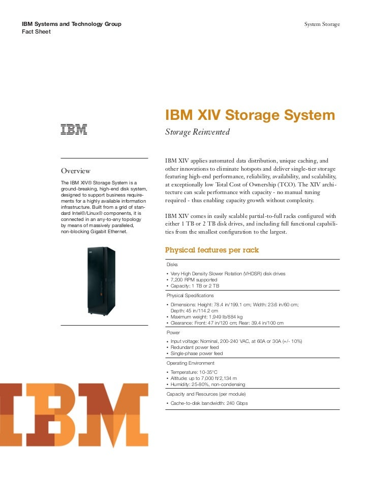 IBM Systems and Technology Group                                                                                          ...