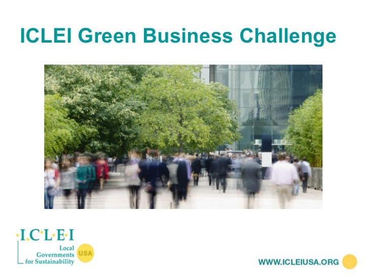 ICLEI Green Business Challenge