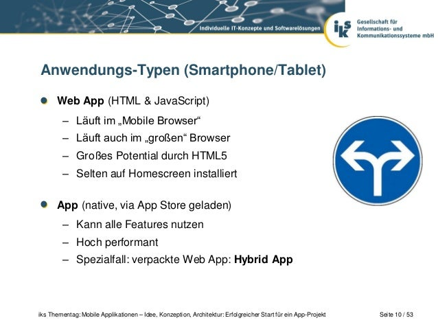 Mobile applikationen idee konzeption architektur for Idee application web