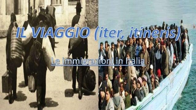 INTRODUZIONE  MIGRAZIONI  ITALIANE DEL  PASSATO  CARATTERI  GENERALI  ITALIA NEL  PERIODO DI  EMIGRAZIONE  PERIODO DI  IMM...