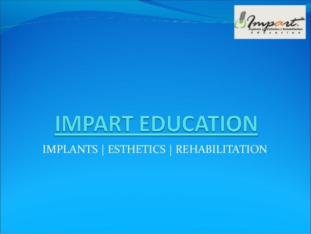 Continuing Dental Courses in India | Impart Education