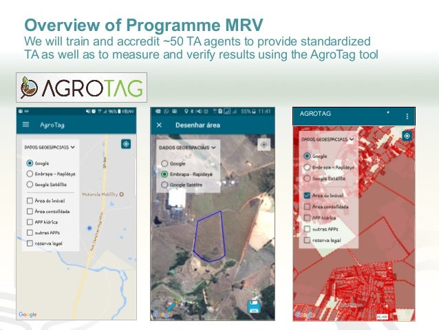 Overview of Programme MRV We will train and accredit ~50 TA agents to provide standardized TA as well as to measure and ve...