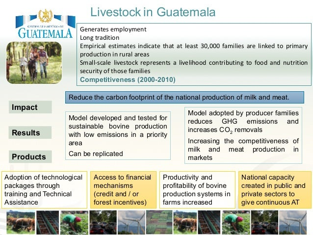 Reduce the carbon footprint of the national production of milk and meat. Model developed and tested for sustainable bovine...