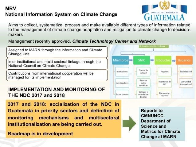 Aims to collect, systematize, process and make available different types of information related to the management of clima...