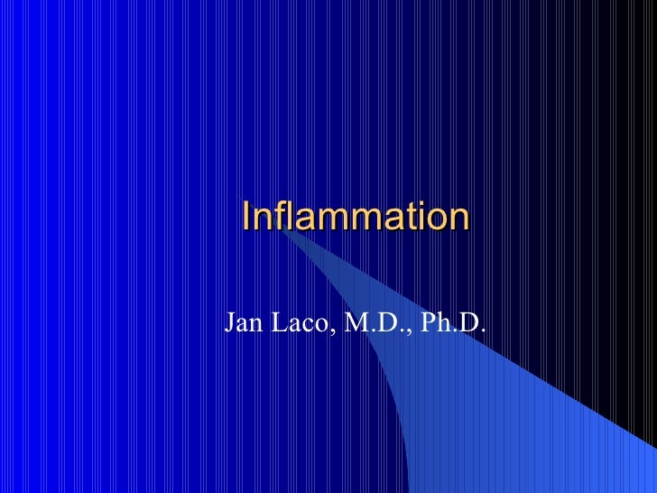 Inflammation Jan Laco, M.D., Ph.D.