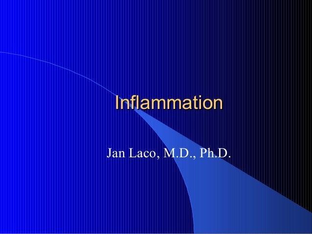 InflammationInflammation Jan Laco, M.D., Ph.D.