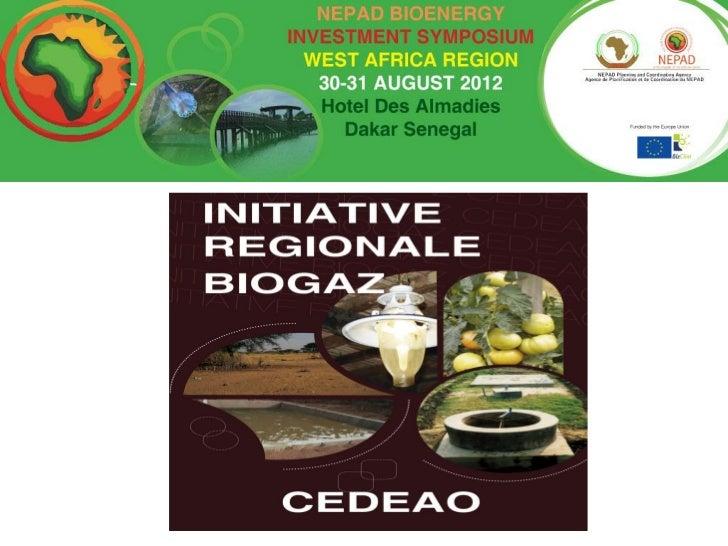 Le biodigesteur (aspects techniques)• Ouvrage souterrain• Matériaux locaux• Niveau technologique  des maçons ruraux• Produ...
