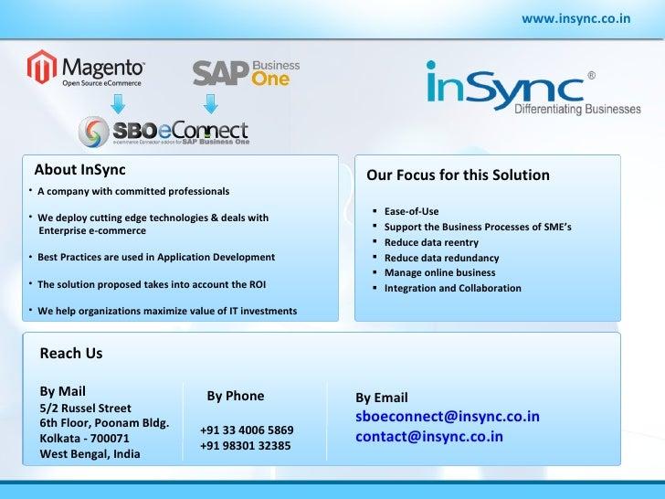 www.insync.co.in <ul><ul><li>A company with committed professionals </li></ul></ul><ul><ul><li>We deploy cutting edge tech...