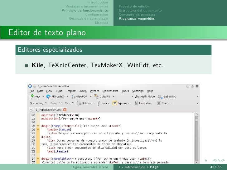 1- Introduccion a LaTeX
