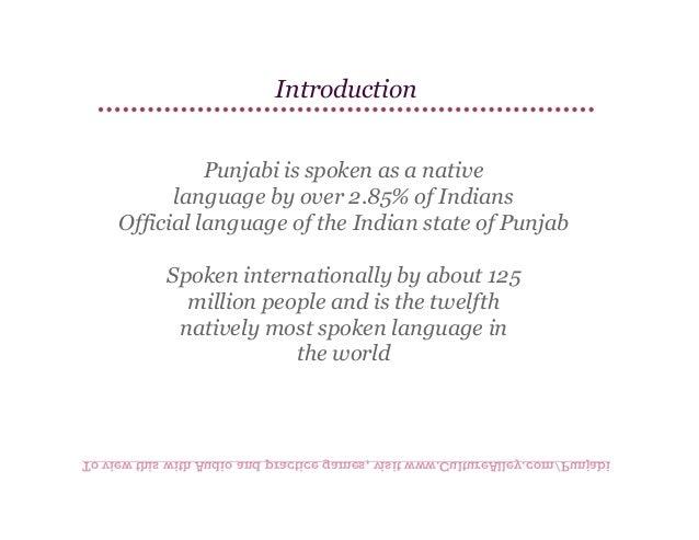 Basic Punjabi