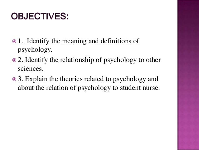 introduction to psychology the beginning and The introductory psychology course is usually the students' first formal introduction to the field, and for some it is the only formal academic view of psychology they will ever have.