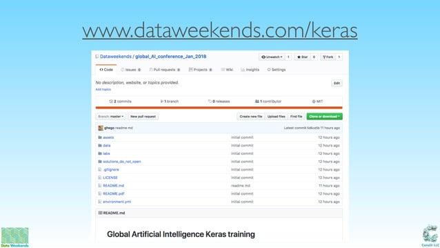 Catalit LLC www.dataweekends.com/keras