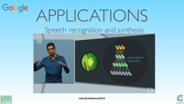 Catalit LLC APPLICATIONS Speech recognition and synthesis http://venturebeat.com/2015